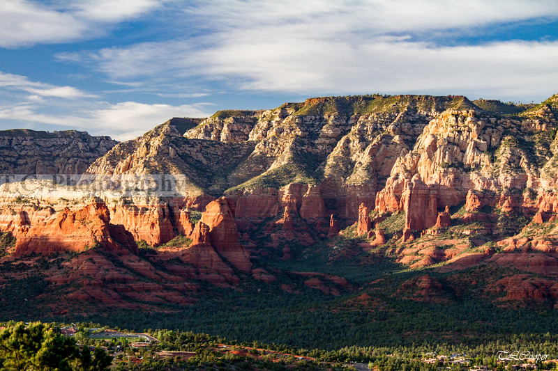 Overlooking Sedona, Arizona