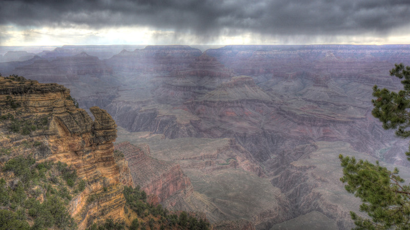 Storm over Mather Point