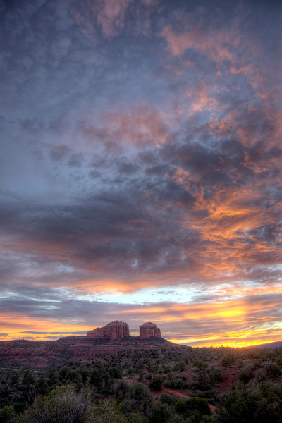 Cathedral Rock at Sunset