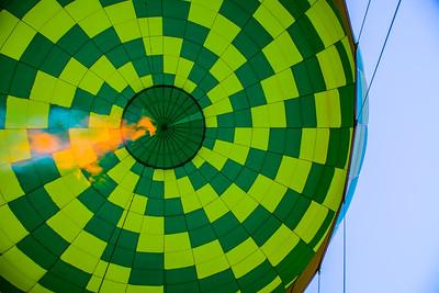 Hot air balloon ride, Sedona, Arizona
