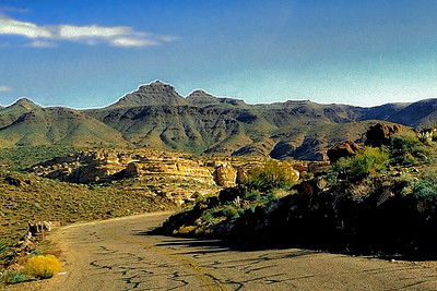 Route 66, Golden Valley, Arizona