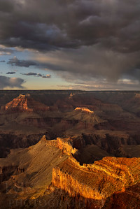 Sunset at Mohave Point, along the West Rim Dr. in Grand Canyon National Park in Arizona.  © Kyle Spradley Photography | http://www.kspradleyphoto.com