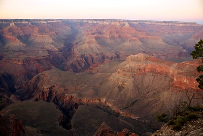 Sunset over the Grandest of Canyons