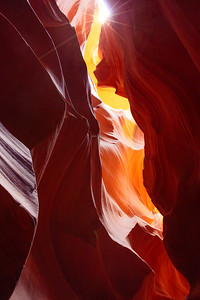 Color mix in Antelope canyon
