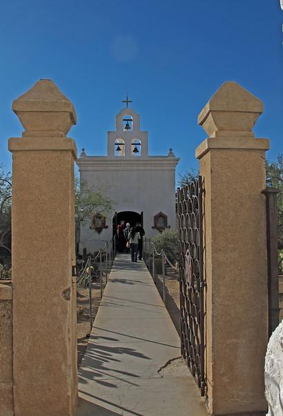 San Xavier del Bac Mission      Dec. 23, 2012