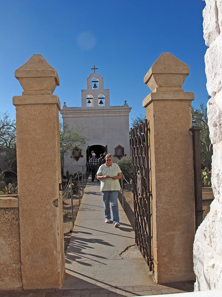 San Xavier del Bac Mission      Dec. 23, 2012