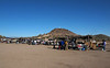 San Xavier del Bac Mission      Dec. 23, 2012<br /> <br /> In the background is the cemetery and hill topped with a large cross.  Many vendors set up in the plaza.