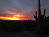 Sunset, Dec. 23, 2012   Tucson, AZ