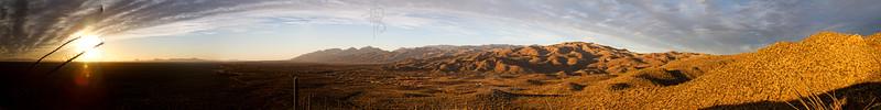 RBP IMG_6920 Catalinas Sunset Tucson AZ