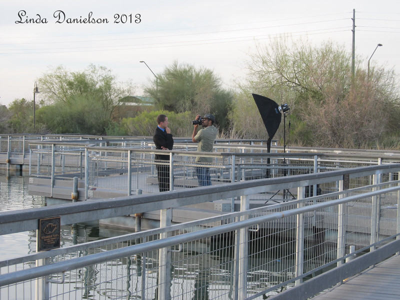 Riparian is a great place for all kinds of photos.... <br /> I'm always fascinated to watch other photographers at work.