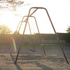 "Empty Playground,<br /> this week's theme ""within a mile of home"""