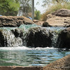 Waterfall at Desert Breeze Park, Chandler