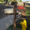 I liked the rural look of these mailboxes