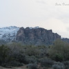 "Snow on the Superstition Mountains - SO gorgeous!!<br /> ""Man's heart away from nature becomes hard.""  ~Standing Bear"