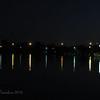 Reflected lights @Riparian Pond