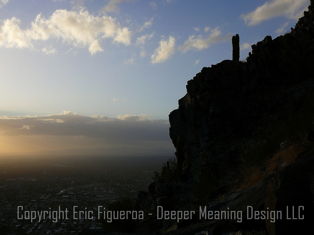 The view from Piestewa Peak - Phoenix, AZ