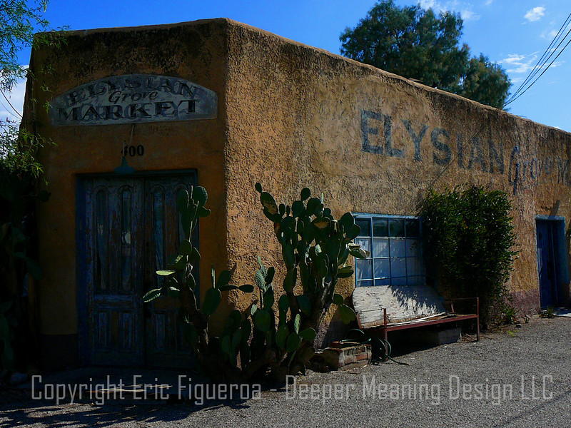 """Elysian Grove Market""  Tucson, Arizona"