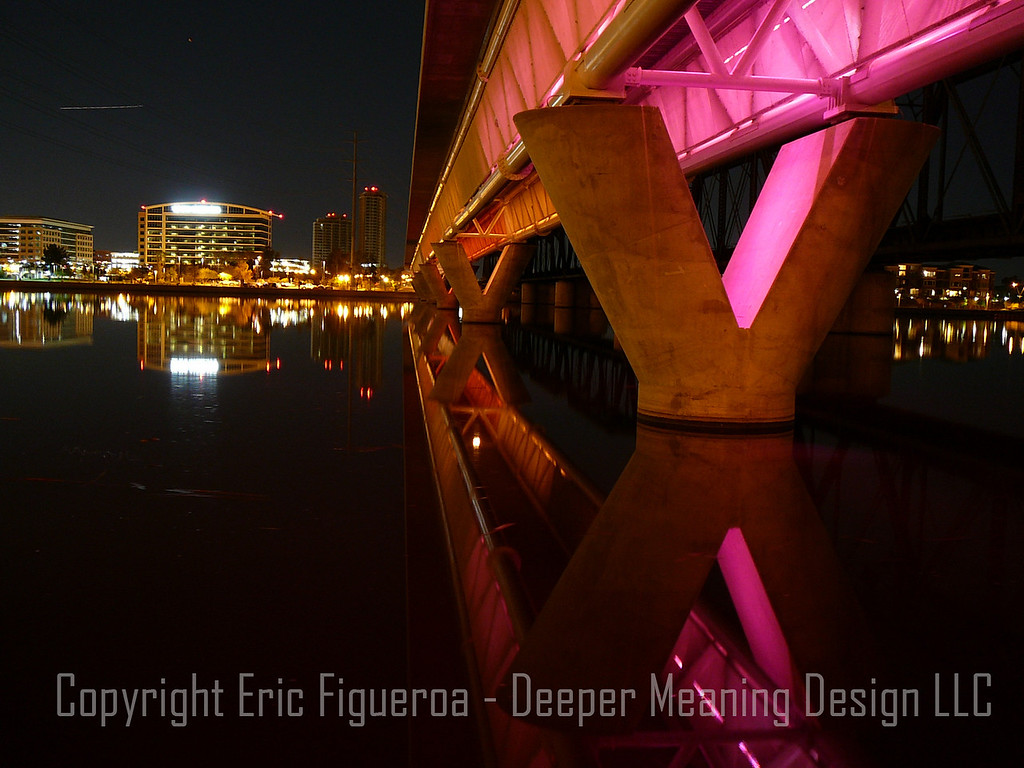 """X Marks the Spot""  Tempe Town Lake  Tempe, Arizona"