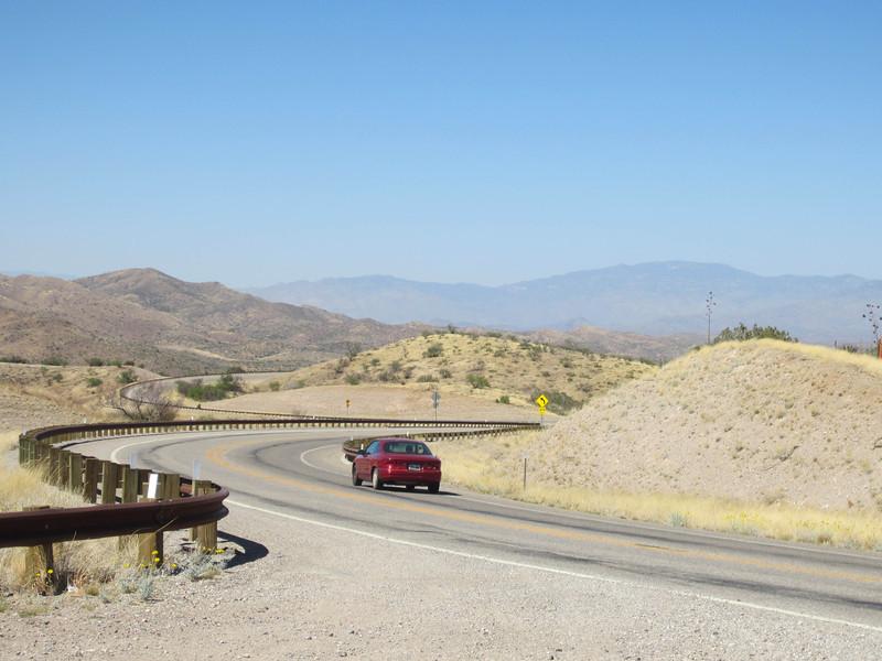 Hwy 83 south towards Sonoita