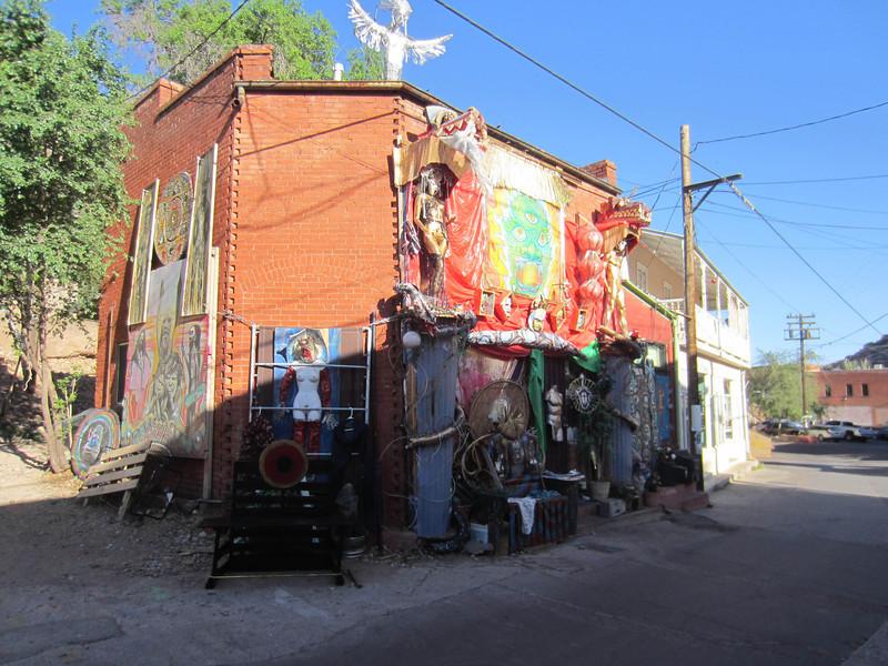 Weird dwelling, Bisbee