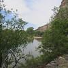 """Montezuma Castle NM. Beaver Creek, in front of Castle """"A"""""""