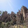 'Organ Pipe' formation, Chiricahua National Monument, in SE Arizona, near the New Mexico border. Apache country.