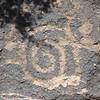 Petroglyph in the basalt, Deer Valley Rock Art Centre