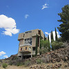 Arcosanti. The poured concrete buildings reminded me of my university dormitory..