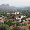 A McMansion just below Holy Cross Chapel in Sedona. This place had it's own observatory..