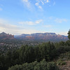 View from the Skyranch Motel, Tabletop Mountain, Sedona