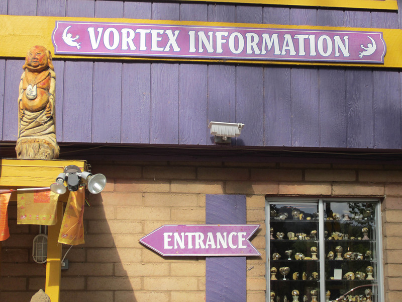 Crystal vortex wonderland, not to mention aura photography, psychic yin yangs, and assorted  trifles...