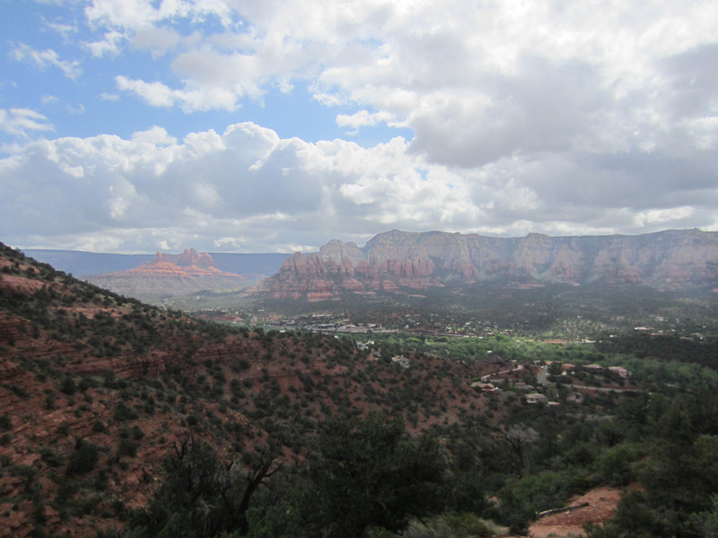 The Airport Loop Trail, Tabletop Mountain, Sedona.