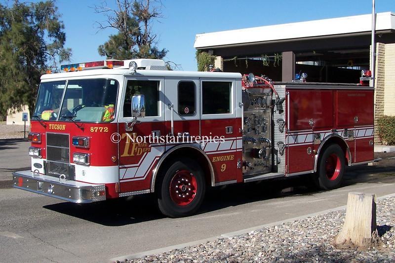 Tucson E-9<br /> 1999 Pierce Saber  1250/500