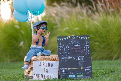 Arjun First Birthday Shoot
