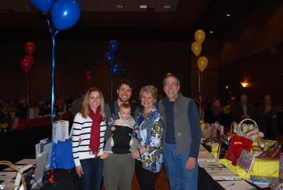 Katy and Wes Garner with their son Jack Garner_Denise and Hershey Garner1