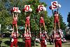 "Pre-game at the ""Hog Trough"""
