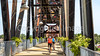 Cyclist(s) on Clinton Presidential Park-Rock Island Bridge in Little Rock - ACA South Loop - C2_D5A1761 - 72 ppi-3