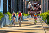 Cyclist(s) on Clinton Presidential Park-Rock Island Bridge in Little Rock - ACA South Loop - C1_1C30143 - 72 ppi