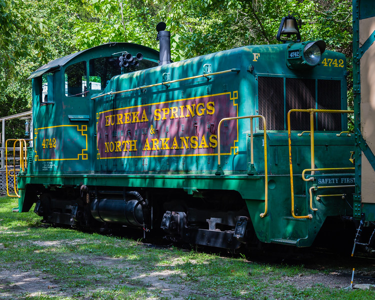 Eureka Springs & North Arkansas Railway Locomotive 4742