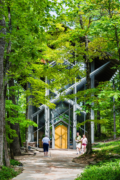 Thorncrown Chapel Exterior