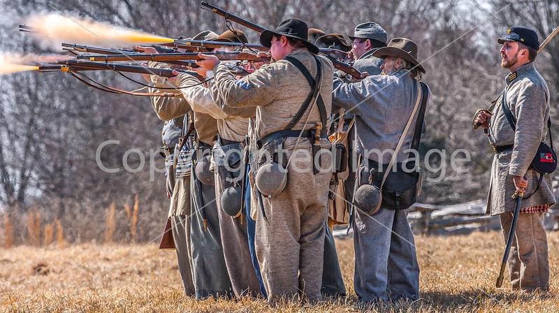 Pea Ridge Nat'l Military Park, Arkansas -- battle anniversary encampment-C4-____0355-Edit - 72 ppi