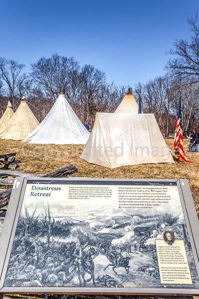 Pea Ridge Nat'l Military Park, Arkansas -- battle anniversary encampment_MG_0036-Edit - 72 ppi