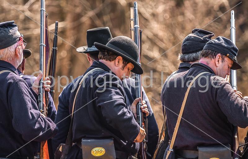 Pea Ridge Nat'l Military Park, Arkansas -- battle anniversary encampment-____0090-Edit - C4 - 72 ppi
