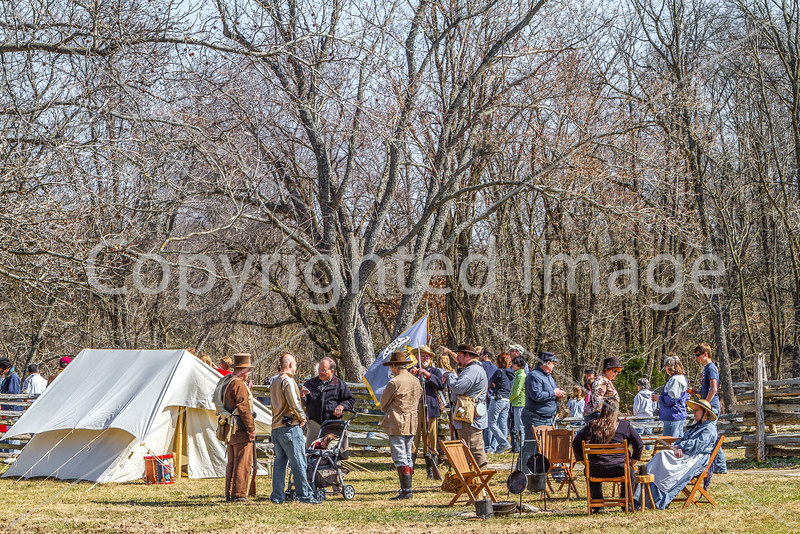 Pea Ridge Nat'l Military Park, Arkansas -- battle anniversary encampment - C1_MG_0091-Edit- 72 ppi