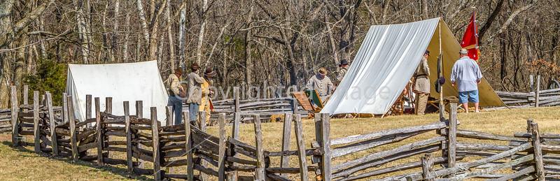 Pea Ridge Nat'l Military Park, Arkansas -- battle anniversary encampment - C1_MG_0089-Edit- 72 ppi-2