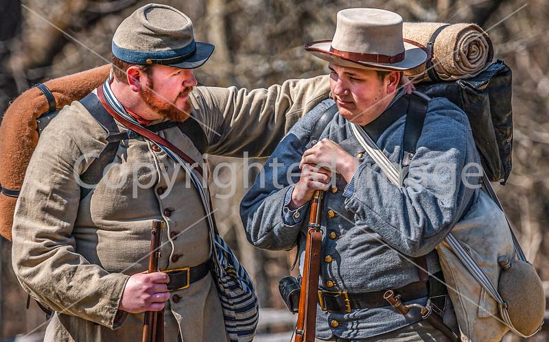 Pea Ridge Nat'l Military Park, Arkansas -- battle anniversary encampment-C4-____0435-Edit - 72 ppi