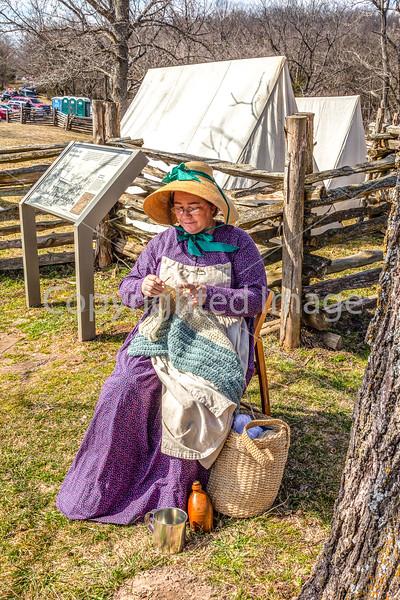 Pea Ridge Nat'l Military Park, Arkansas -- battle anniversary encampment_MG_0090-Edit - 72 ppi