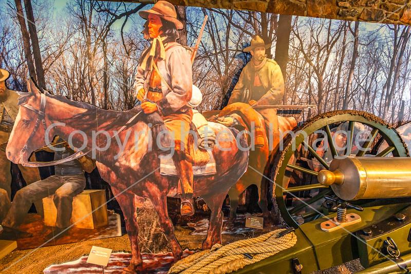 Pea Ridge Nat'l Military Park, Arkansas -- battle anniversary encampment- - 72 ppi-8