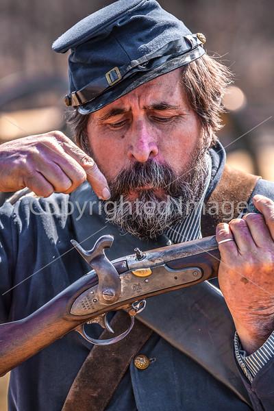 Pea Ridge Nat'l Military Park, Arkansas -- battle anniversary encampment-____0080-Edit - C4 - 72 ppi