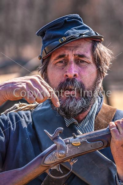Pea Ridge Nat'l Military Park, Arkansas -- battle anniversary encampment-____0081-Edit - C4 - 72 ppi